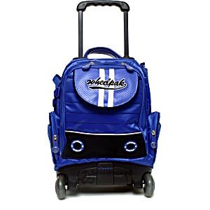 Школьный рюкзак на колесах – ранец Wheelpak Punch Blue – арт. WLP2129 (для 0-3 класса, 15 литров)