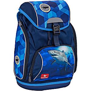 Ранец-рюкзак Belmil 404-31 LUMI SHARK + пенал