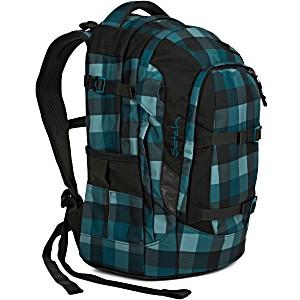 Рюкзак для мальчика голубой Satch Pack Blue Bytes SAT-SIN-002-9H4